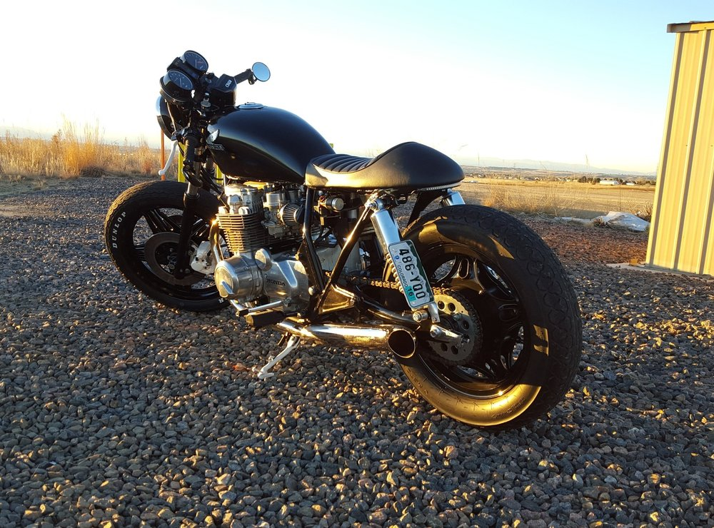 CB650 Cafe Racer Builder