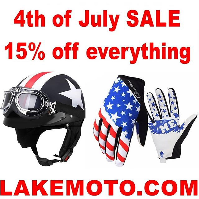 "Enter ""THE4THSALE"" at checkout to receive 15% off storewide no minimum order. #cb750 #cb450 #cb550 #cx500 #caferacer #bratbike #instabike #lakemotorcycle #motorcycle #caferacerporn #croig #caferacerparts #pipeburn #bikesofinstagram #hondamotorcycles #sale #helmets #caferacerxxx #caferacergram #caferacerworld #caferacerculture #caferacerlife #gloves #bikeparts #captainamericahelmet #cb350 #caferacerclub"