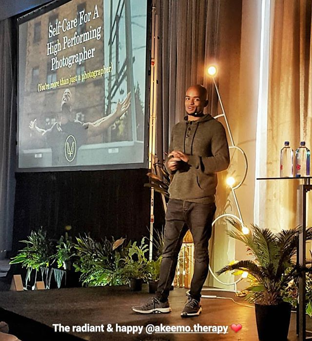 That look you get when you know you found something you love and you're just getting started 🕺🏾 . Had an amazing opportunity to speak at the @arcthisis experience photography conference and it was a truly blessed and humbling experience. . Not only was it the best conference I've ever spoke at(my only one), but it was the best I've ever attended. I give thanks to @sachin for believing in me and providing an opportunity to share a bit of myself and get out of my comfort zone. It definitely woke up an excitement in me that I will be pursuing more. Here's to more speaking engagements in the future! ✨✨✨ 📸: @maxinebullochphotography  #experiencearc #lovelovelove