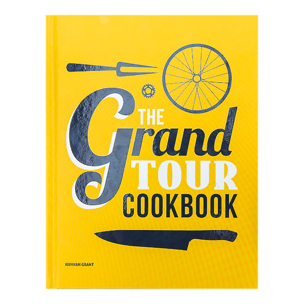 The Grand Tour Cook Book    Price: £26   Hannah Grant is a Michelin-starred chef who now feeds pro team Tinkoff-Saxo at the Tour de France with these awesome recipes.