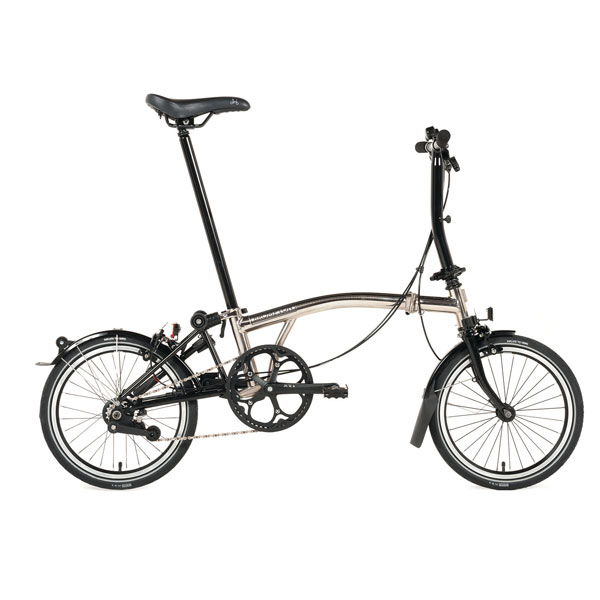 The Brompton Nickel Edition    Price: £800   Brompton's nickel-plated special-edition fold-up is slick and stunning and – with only 1,500 made – it's super sought after.