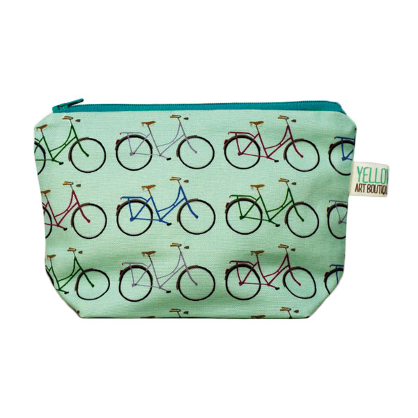 Mint Bicycle Make Up Toiletry Bag    Price: £10.50   Perfect for storing all your make-up essentials on the commute and a great little gift to yourself. Just because.