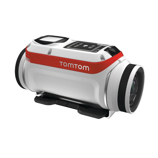TomTom Bandit Premium    Price: £429   The TomTom Bandit Premium is the first 4K HD action camera that lets you edit video without having to download it first.