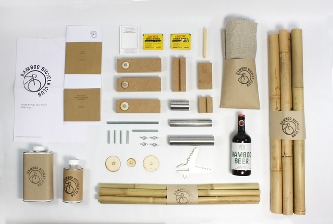 Your bamboo-bike-building kit