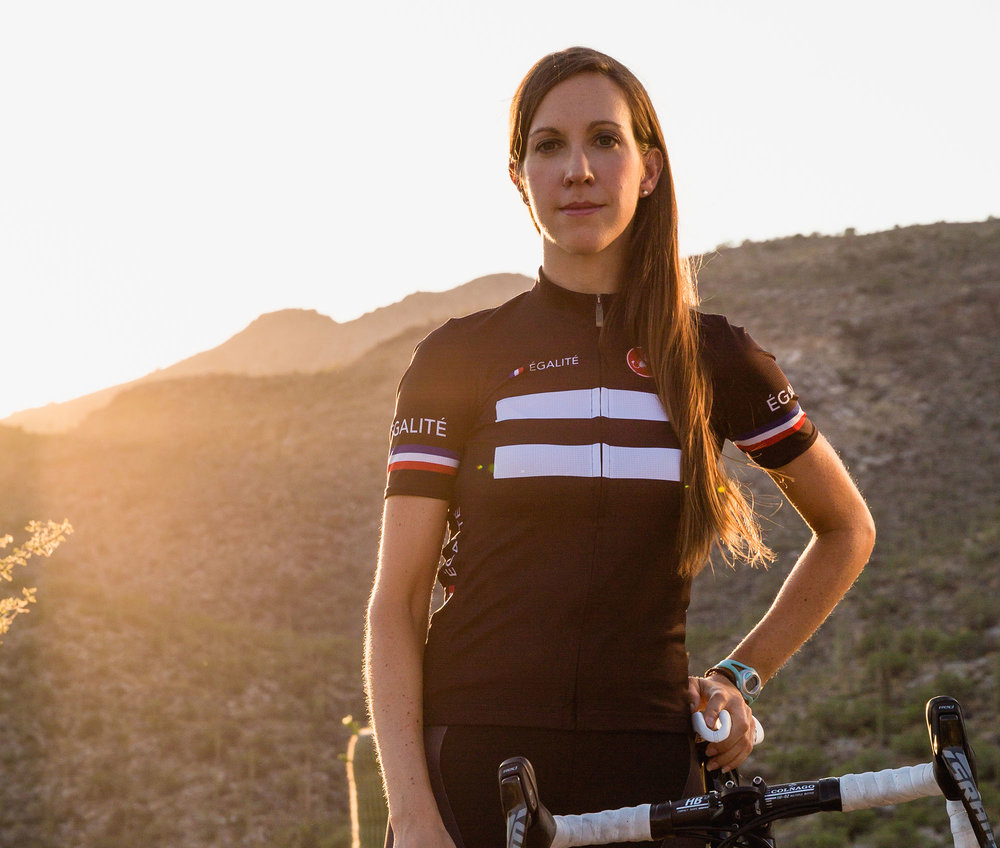 The inequality Kathryn Bertine encountered when she fell into pro cycling  pissed her off so much that it has become a cause that has dominated her  life. 540276b46