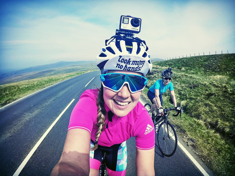 Sophie Radcliffe and her friend Lorna North pack their GoPros and conquer the coast-to-coast route between Whitehaven and Tynemouth