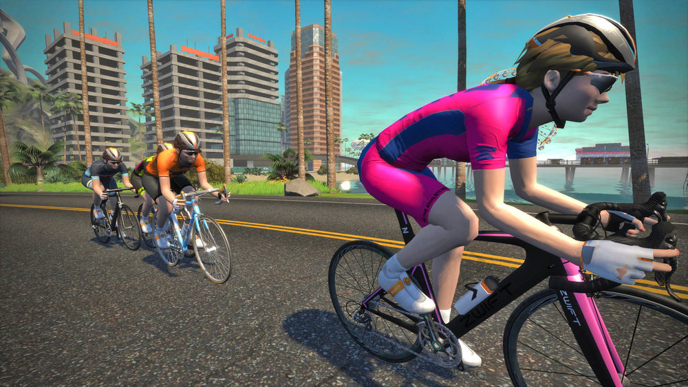 Jasmijn Muller recently smashed  the Zwift Distance Record with a Wahoo  Kickr 594b3300e