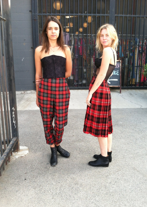 Plaids and Lace