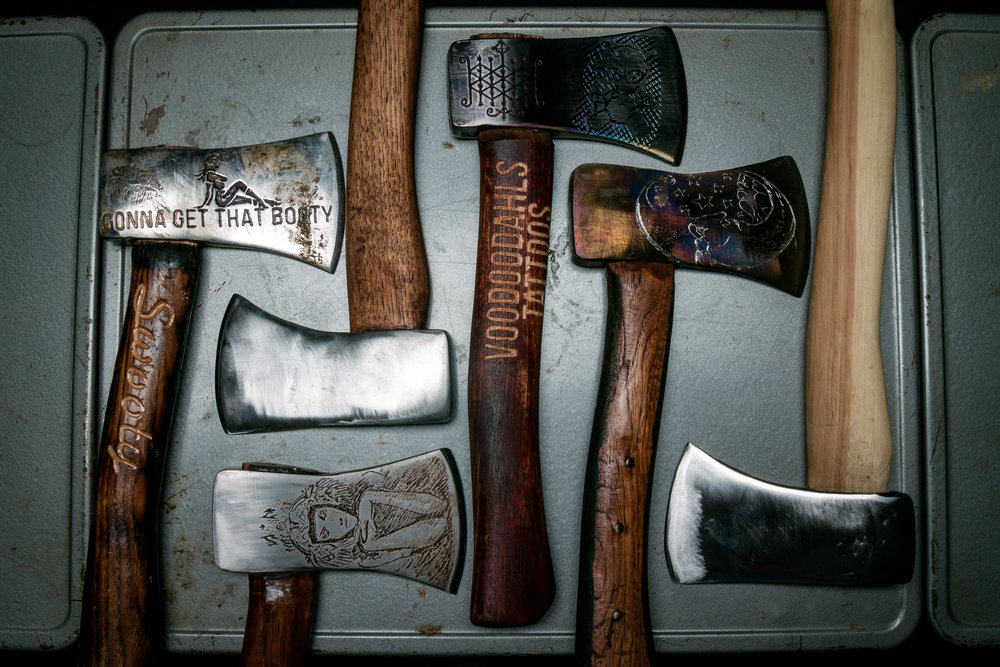 Buy an axe and name it kindness.