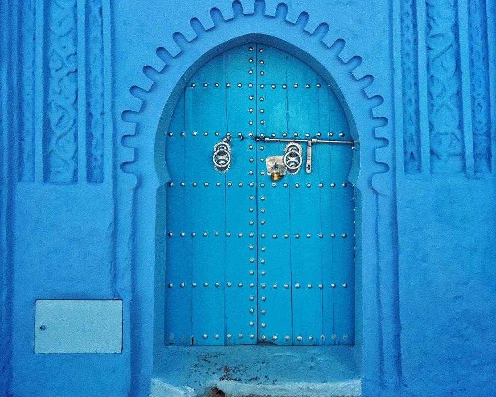 Blue+door