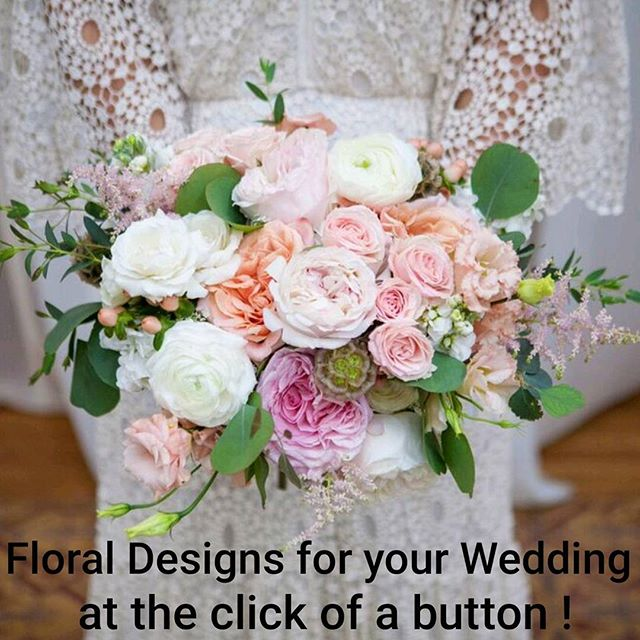 Expertly curated Floral packages for your wedding at the click of a button? Follow the link in profile for more info ! . . . . . @kristinaleephotography  @marymebridal  @sec_love  @ebelloflb