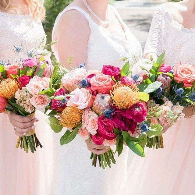 "Did you know our New Wedding collections can be made with slight color adjustments? This is our Modern Collection. The bride asked if we could make the colors a but more vibrant ? We love it ! What do you think ?  repost via @eventsbyhollygray A wedding is like a Musical. There are costumes, make up and hair, props, lights, sound, stage hands, sets, a director and of course the stage manager (that's me!). Hire vendors who are experienced, reliable, talented and nice. It will ensure that come ""Opening Night"", your wedding gets a standing ovation! .  Loved working with this amazing vendor team at H & E's wedding last month.  Photo@peterson.design.photo  Florals@thehaloexperience  MUA@betsybmu  Planning @eventsbyhollygray #instarepost20"