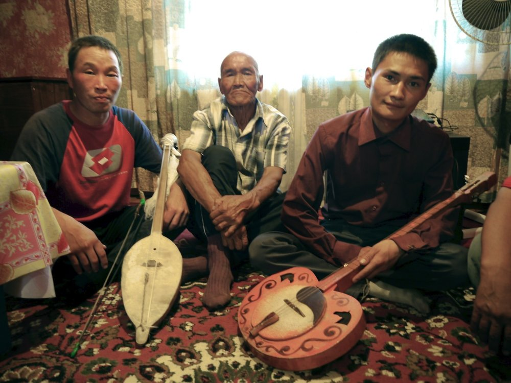 bailak saryglar (with igil), saya sandi-ool, aiding mongush (with chanzy)
