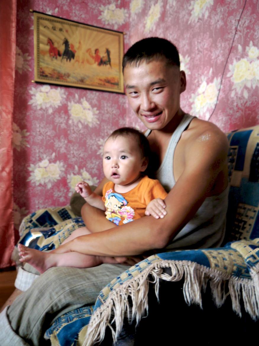 buyan mongush and daughter