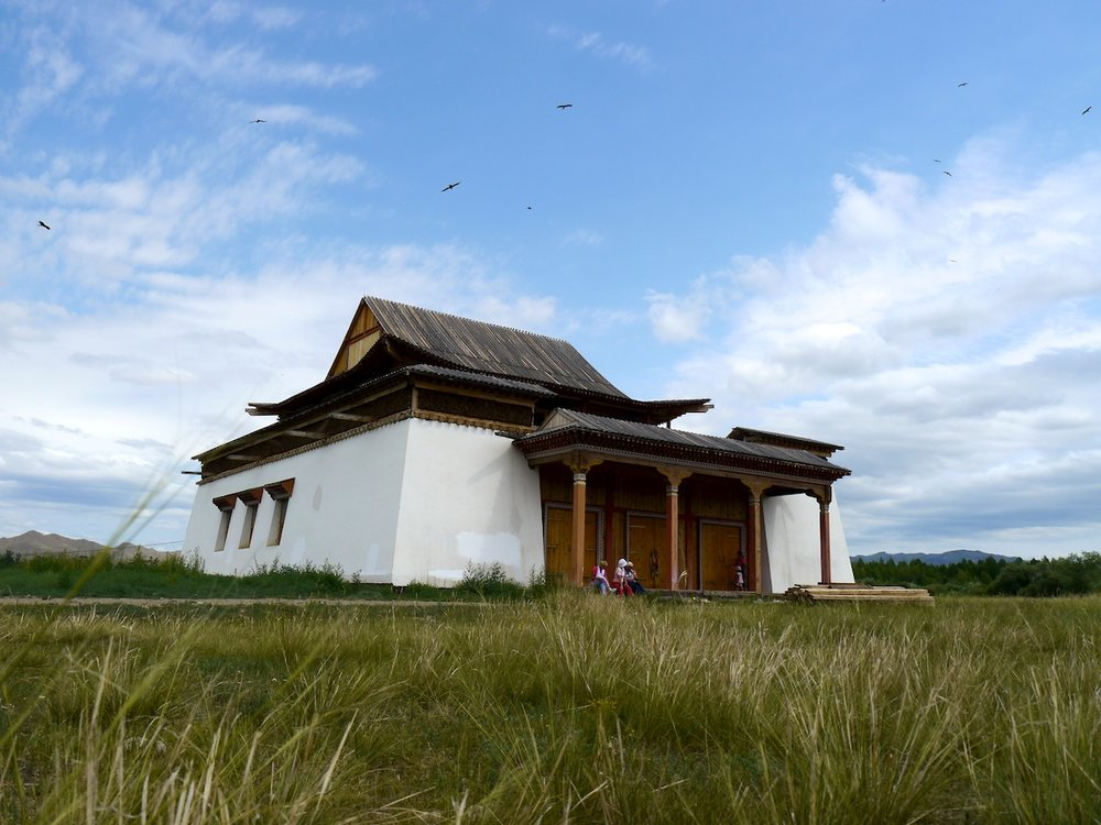 reconstructed ustuu-khuree temple