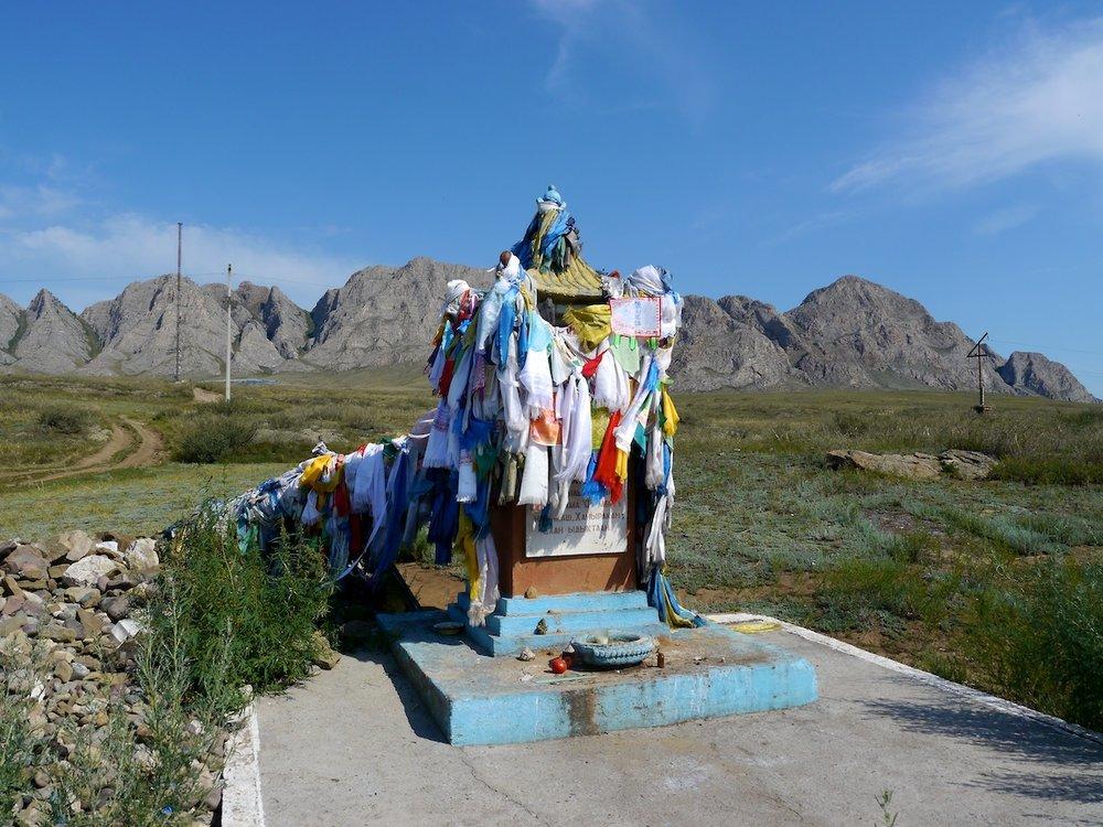 mt khayyrakan, blessed by the dalai lama in 1992