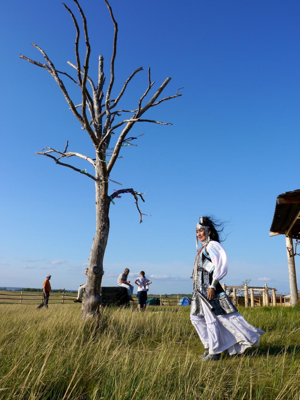 sakha khomus virtuoso albina degtyareva at the ysyakh festival