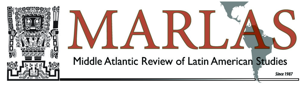 Logo for our new online peer-review journal, the Middle Atlantic Review of Latin American Studies.