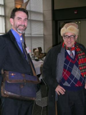 Brian Turner, Clarence Zuvekas