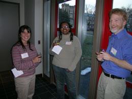 Laura Cohen, Traci Dunn, John