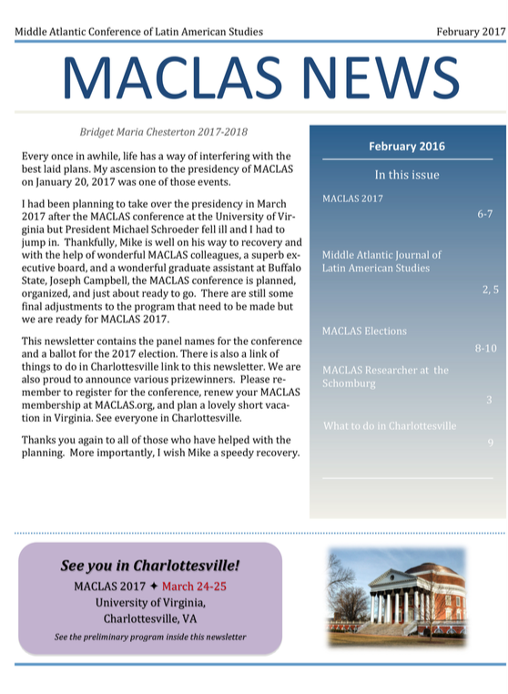 Click on image for February 2017 newsletter.