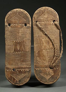 Congo Wood Sandals