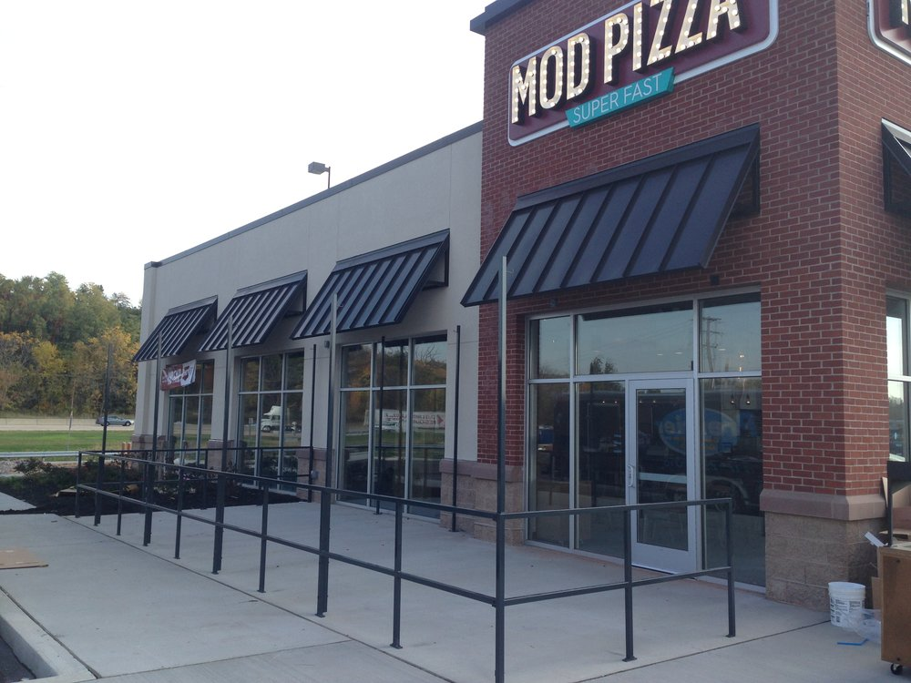 MOD Pizza Railing. York, PA