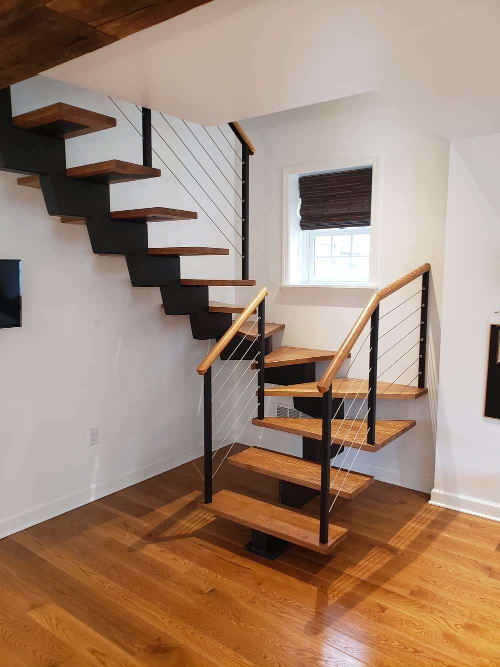 Floating Block Staircase. Bethlehem, PA
