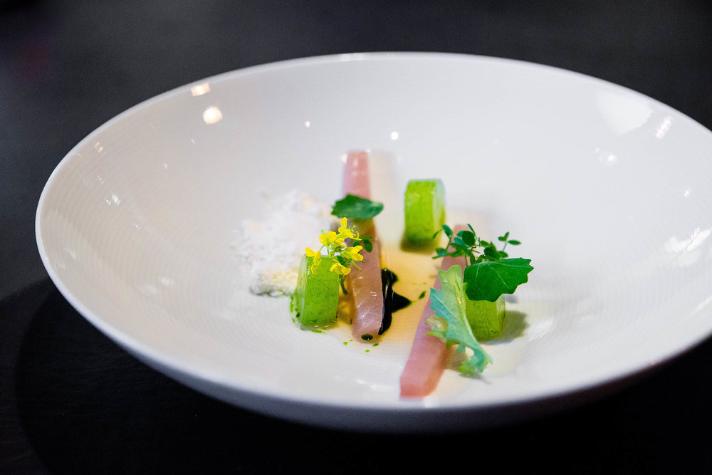 Mackerel, Cucumber, Horseradish