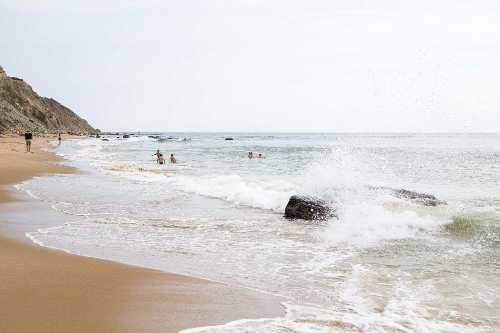 Block Island Rhode Island Beach
