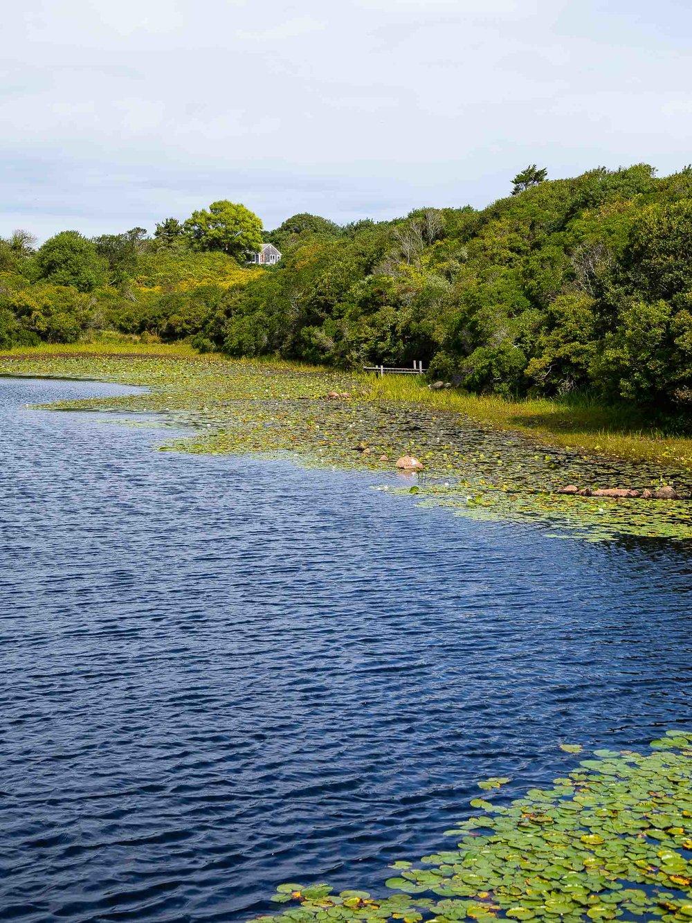 Block Island Rhode Island Pond