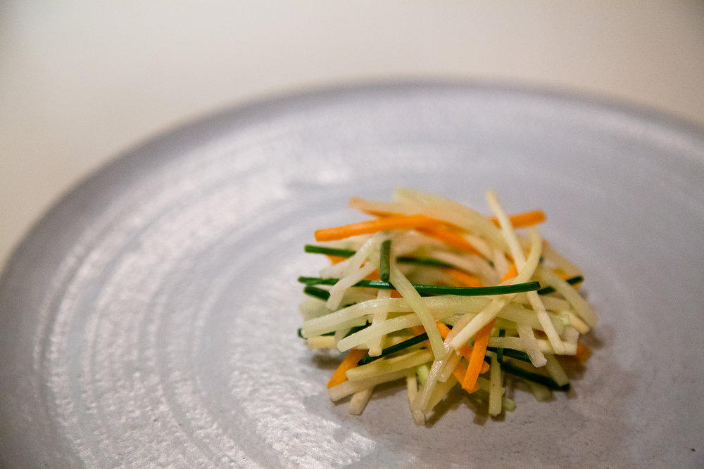 Cole Slaw of Fresh and Fermented Vegetables