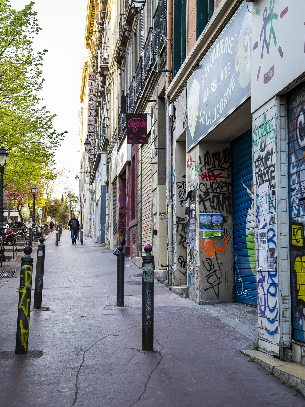 Marseille France Street Photograph Savonnerie de la Licorne