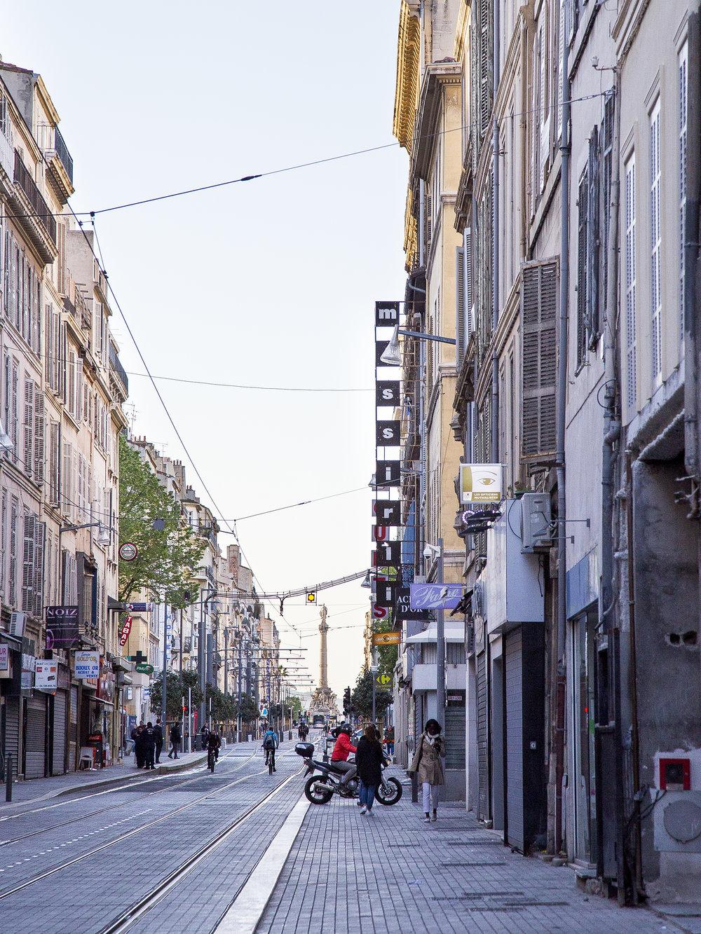 Marseille France Street Photograph