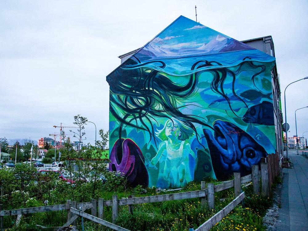 Reykjavik Iceland Street Art Graffiti