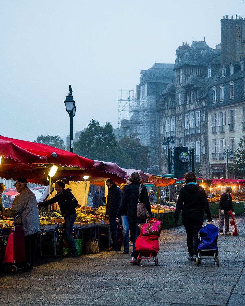 Marche des Lices Rennes France