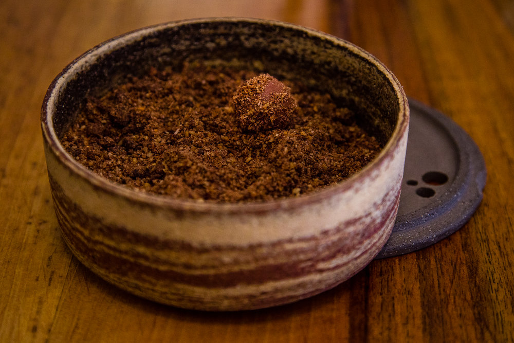 Treasure Hunt: Truffle hidden in Chocolate Crumble