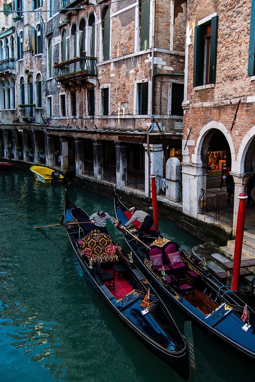 Venice Italy Canal Gondola