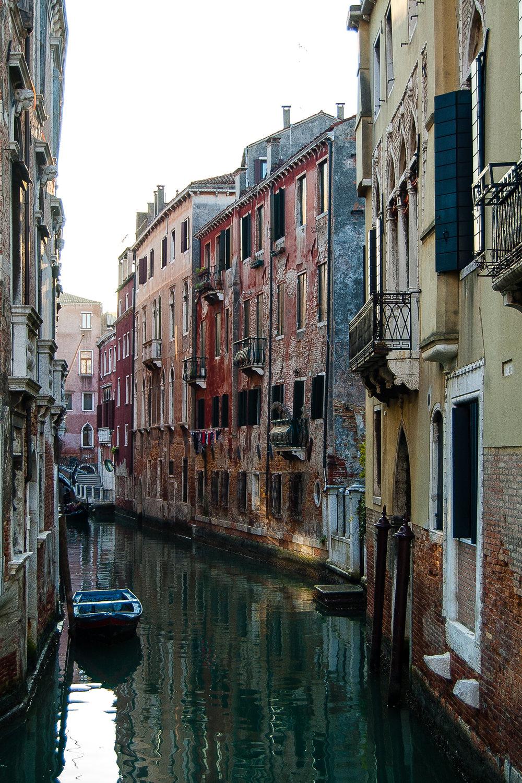 Venice Canal Italy Gondola