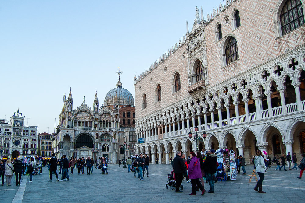 Venice Italy Palazzo Ducale