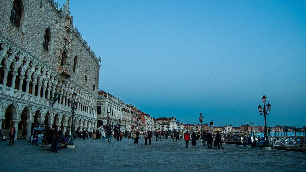 Venice Italy Riva Degli Schiavoni