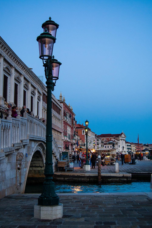 Venice Italy Ponte della Paglia