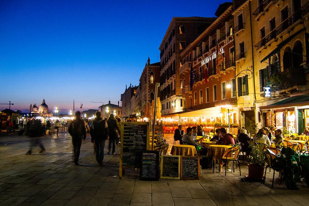 Venice Italy Rive degli Schiavoni