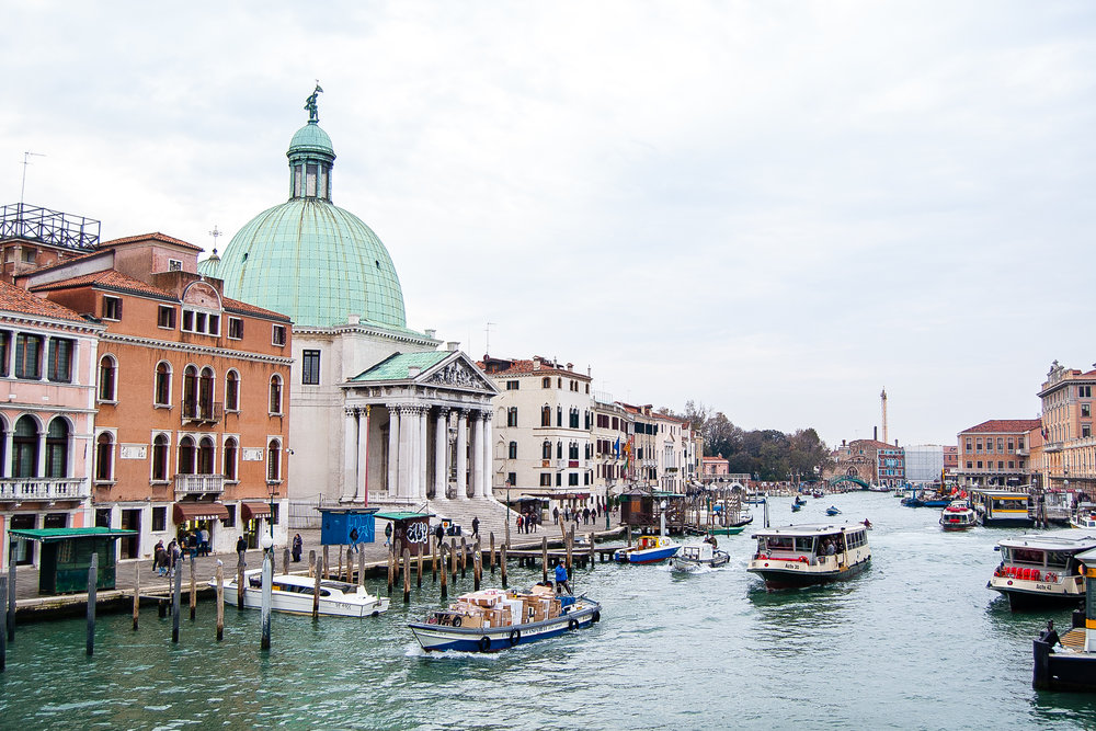 Venice Italy Grand Canal Canal Grande