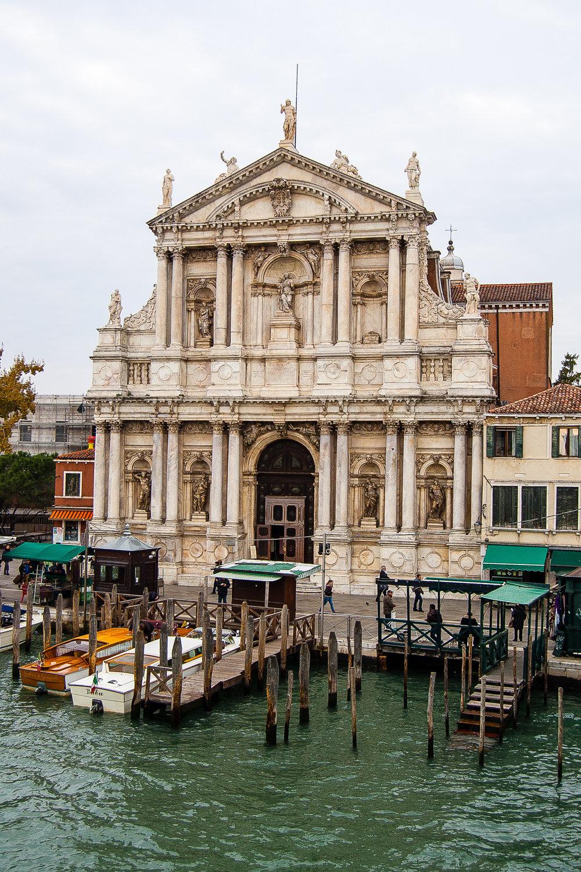 Venice Italy Santa Maria di Nazareth Chiesa degli Scalzi