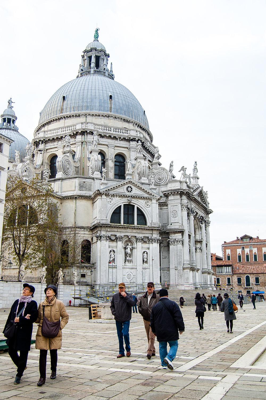 Venice Italy Basilica di Santa Maria della Salute