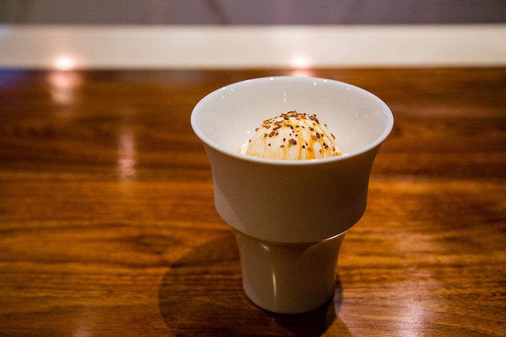 Soba Cha Ice Cream, Caramel