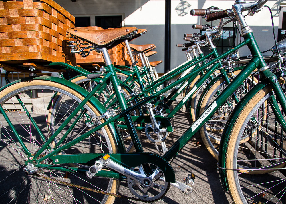 Bikes for guest use