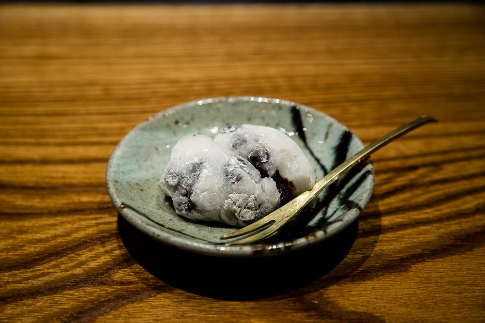 Red bean daifuku