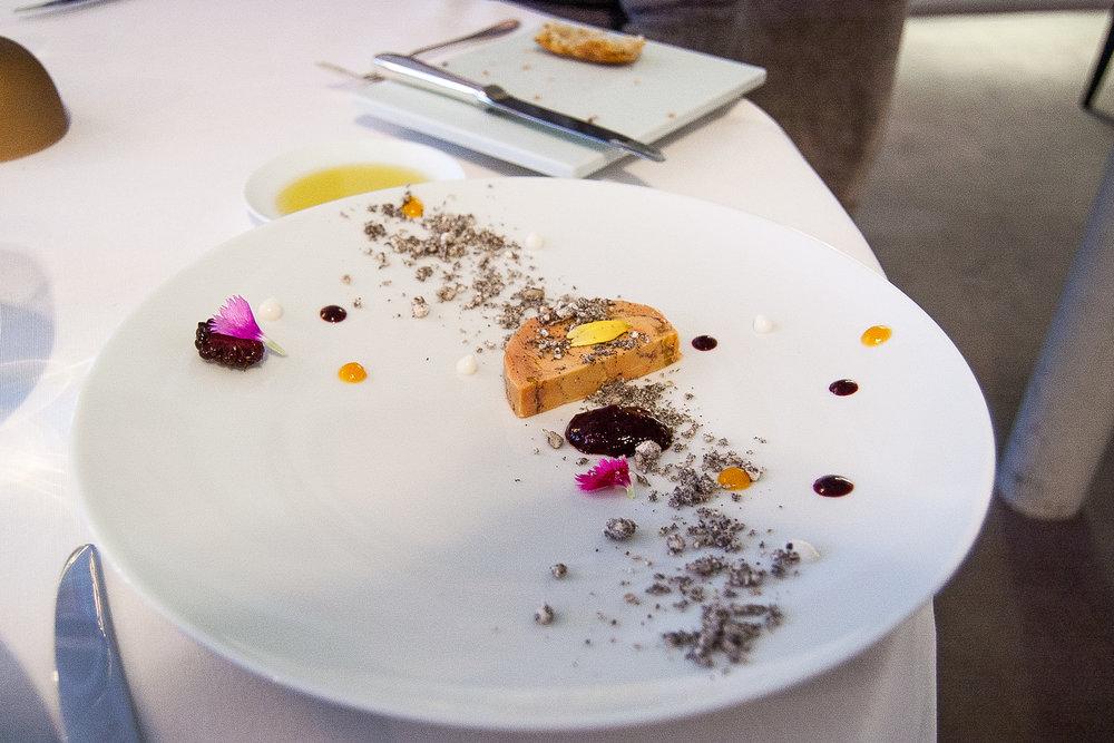 My mom's foie gras